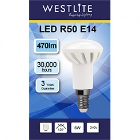 WESTLITE R50 E14 6W LED