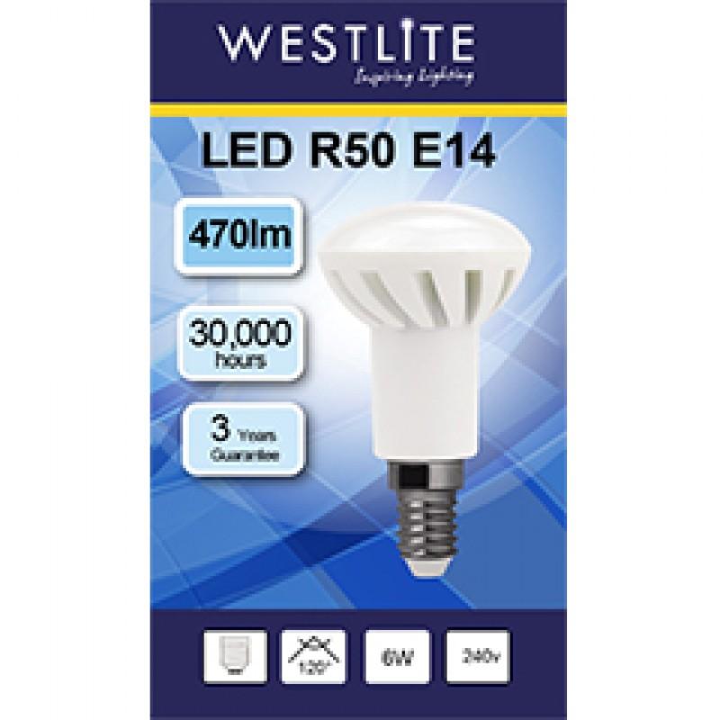 R50 E14 6W LED