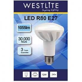 WESTLITE R80 E27 12W LED