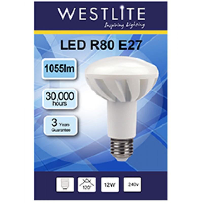R80 E27 12W LED