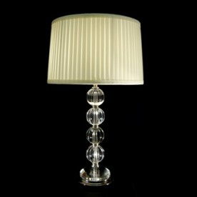 Merin Crystal Lamp - Clear