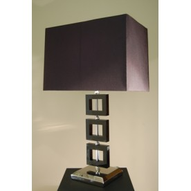 Zlin Black Crystal Lamp