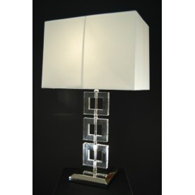 Zlin Clear Crystal Lamp