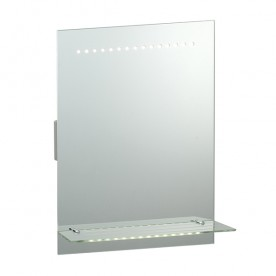 Omega shaver mirror IP44 1.5W SW cool white wall - mirrored glass