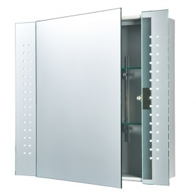 Revelo shaver cabinet mirror IP44 5.1W SW cool white wall - mirrored glass