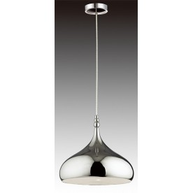 Rosia Ceiling Pendant Light - Sand Chrome
