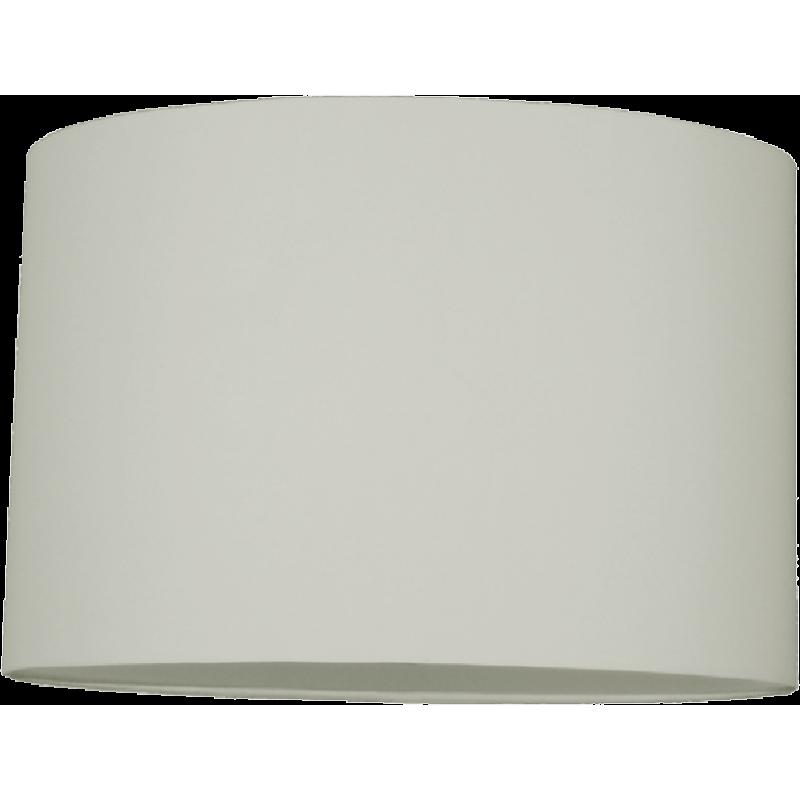 Oval PVC Backed Shade Cream