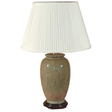 TL133-329 - Brown Natural Glaze Lamp