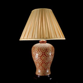 TL7029 - Bronze Colour Glaze Lamp
