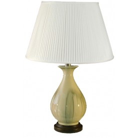 TL0118 - Cream With Splash Table Lamp Complete