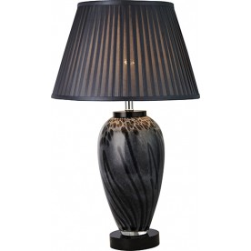 TL1420 - Black Spiral Gloss Lamp Complete