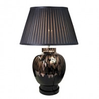 TL1435 - Black With Gold Lamp