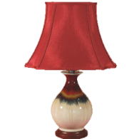 TL0111 - Red To Sandy Lamp