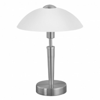 Moss Touch Lamp - Satin Nickel