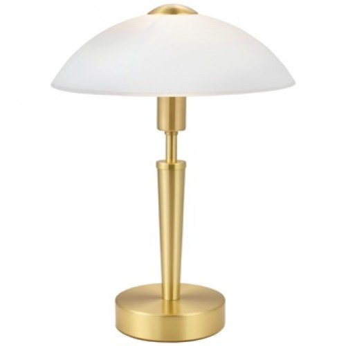 Moss Touch Lamp - Satin Brass
