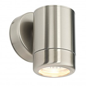 Atlantis 1lt wall IP65 7W - marine grade brushed stainless steel