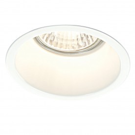 Peake 50W recessed - gloss white