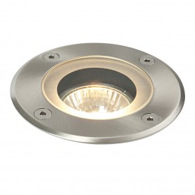 Pillar round marine grade IP65 50W recessed - marine grade brushed stainless steel