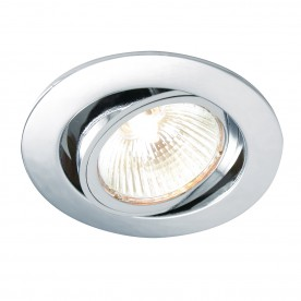 Cast tilt 50W recessed - chrome plate