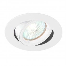 Cast tilt 50W recessed - gloss white
