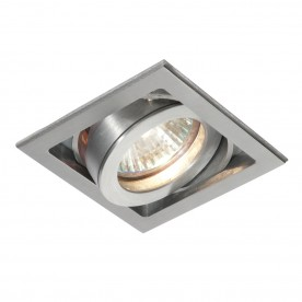 Xeno single 50W recessed - aluminium