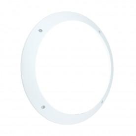 Seran plain IP65 12W daylight white wall - matt white textured pc