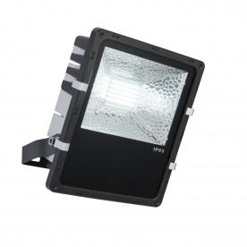 Stark IP65 50W daylight white wall - matt black