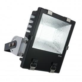 Stark IP65 100W daylight white wall - matt black