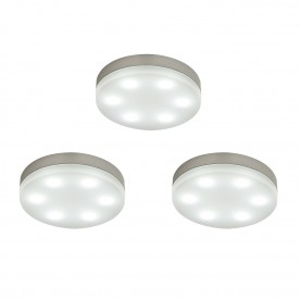 Marci round kit 1.5W daylight white cabinet - frosted pc