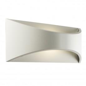 Vulcan 300mm 1lt wall IP65 12W warm white - textured matt white