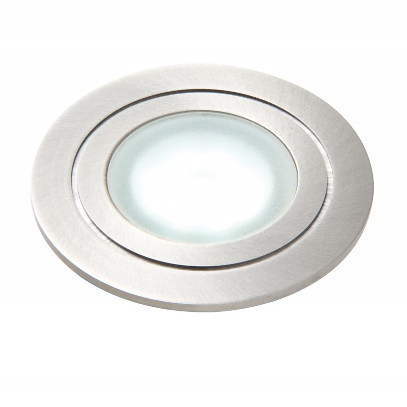 SPLITZ round IP67 1.2W DAYLIGHT recessed - marine grade stainless steel
