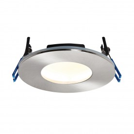 OrbitalPLUS IP65 9W warm white recessed - satin nickel
