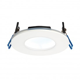 OrbitalPLUS IP65 9W cool white recessed - matt white