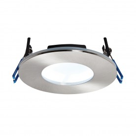 OrbitalPLUS IP65 9W cool white recessed - satin nickel