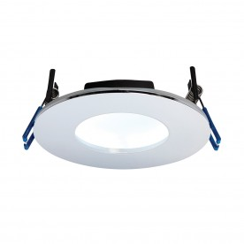 OrbitalPLUS IP65 9W cool white recessed - chrome plate