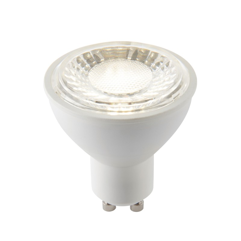 GU10 LED SMD dimmable 60 degrees 7W cool white