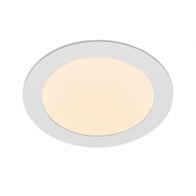 Helana 12W warm white recessed - matt white