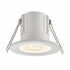 ShieldECO 500 IP65 4W warm white recessed - matt white