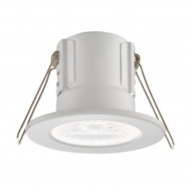 ShieldECO 500 IP65 4W cool white recessed - matt white