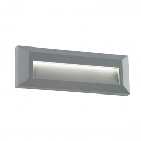 Tivoli landscape indirect IP65 2W warm white wall - grey abs plastic