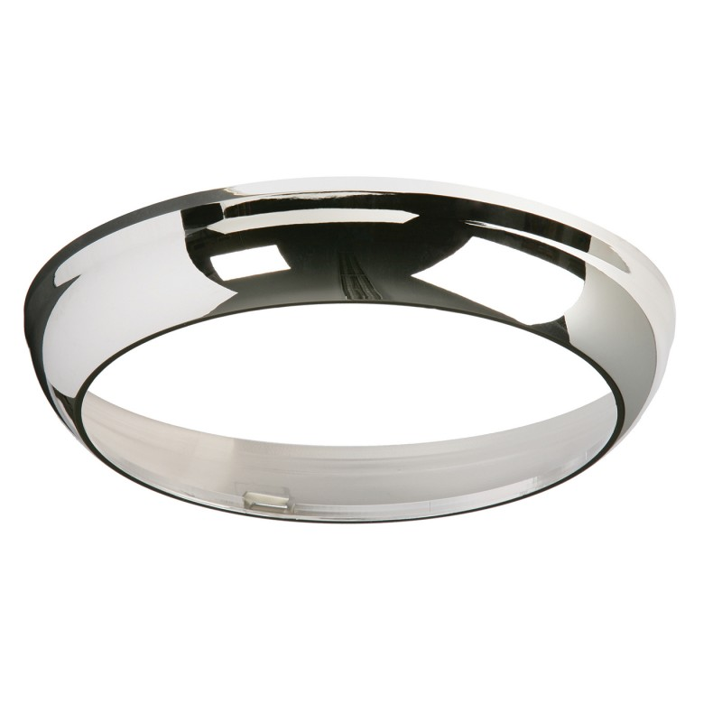 Vigor 275mm trim accessory - chrome effect abs plastic