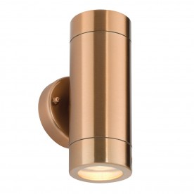 MODERNA 2lt wall IP44 7W - copper plate