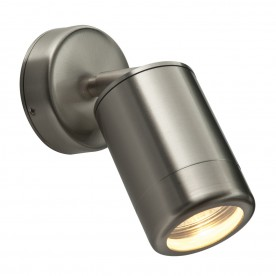 Odyssey spot wall IP65 7W - brushed stainless steel