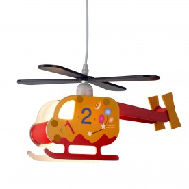 NOVELTY CHILDRENS HELICOPTER PENDANT ABC DESIGN