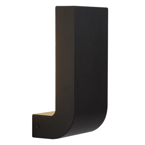 Outdoor Black LED Wall Bracket