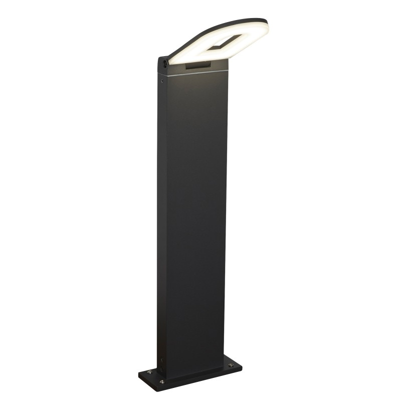 MANHATTAN LED OUTDOOR - POST (HEIGHT 50cm) DARK GREY FROSTED DIFFUSER