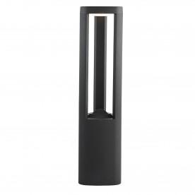 MICHIGAN LED OUTDOOR POST 500MM HEIGHT - DARK GREY