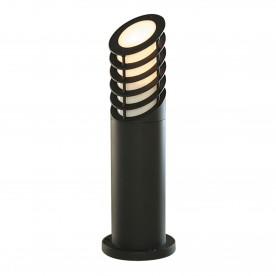 OUTDOOR POSTS LAMP/BOLLARD BLACK 45cm ALUMINIUM