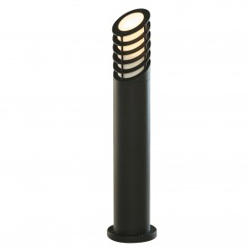 OUTDOOR POSTS LAMP/BOLLARD BLACK 73cm ALUMINIUM