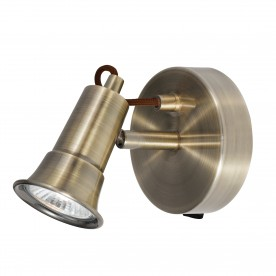 EROS - 1LT SPOTLIGHT ANTIQUE BRASS